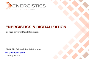 Energistics Webinar Digital Transformation