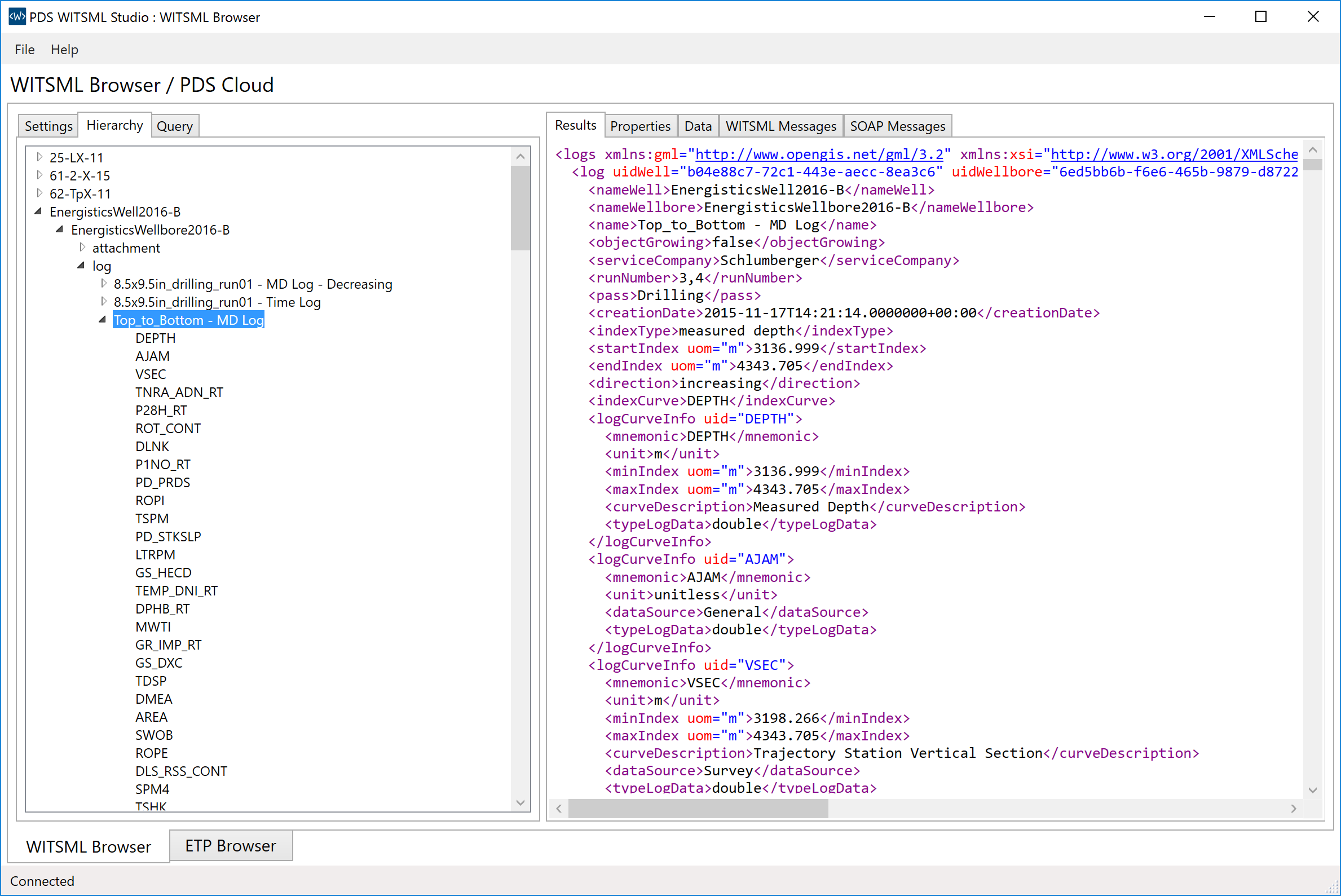 PDS-WITSML-Newsroom-Blog-Initial-Release-Dataobject-Hierarchy