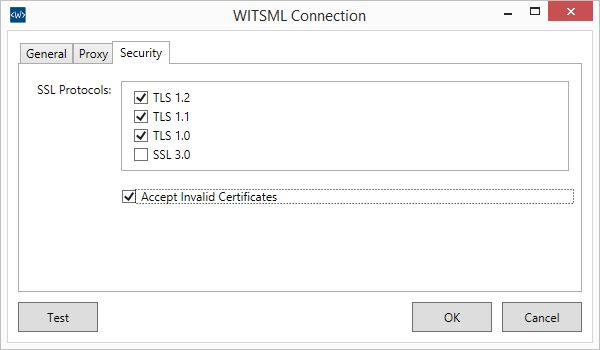 PDS-WITSML-Browser-Connections-Select-Security-Protocols